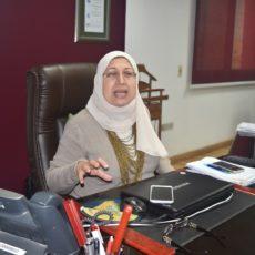 السيدة المحاسبة اميرة سعد زغلول المدير العام لشركة سكومى اويل ايجيبت