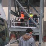 صور حصرية لزيارة جابر دسوقى  وقيادات القابضة لمحطة جنوب حلوان