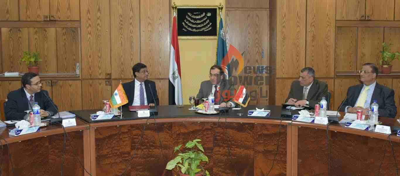 وزير البترول يبحث سبل تعزيز التعاون في البترول والبتروكيماويات بين مصر والهند