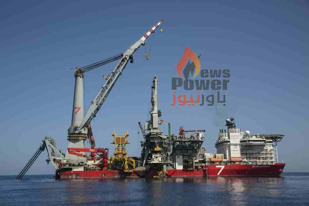 الرئيس السيسى  يفتتح المرحلة الأولى من مشروع إنتاج الغاز من حقول شمال الاسكندرية
