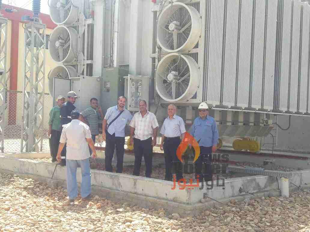 بالصور .. ABB  و قيادات منطقة  مصر العليا يطلقون الجهد بنجاح على توسعات محطة محولات طما 220 كيلو فولت