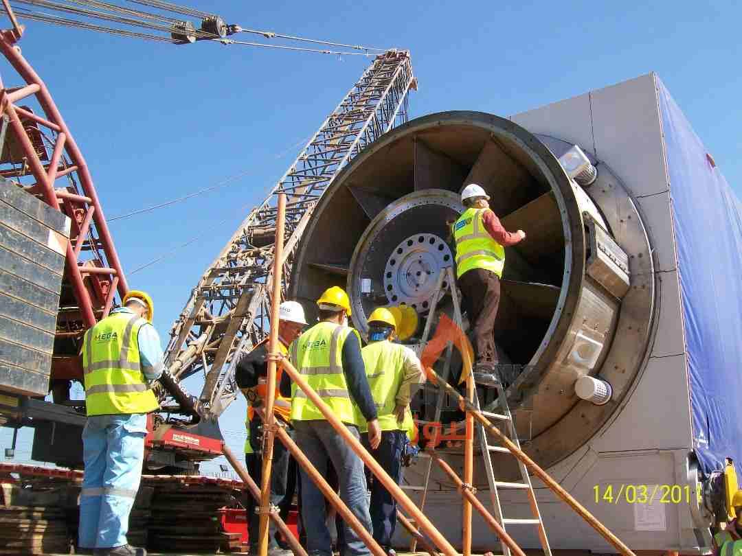 ميجا للانشاء و الصناعة تبدأ تنفيذ عقد  التركيبات لغلايات استعادة الطاقة بمشروع الدورة المركبة لمحطة 6 اكتوبر