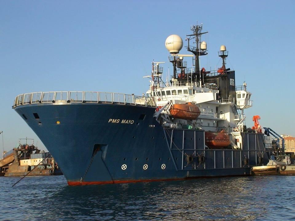 البدوى : الوحدة البحرية  العملاقة PMS MAYO  تدخل  ترسانة الاسكندرية للتطوير بعد اداء مهامها بكفاءة فى مشروع ظهر