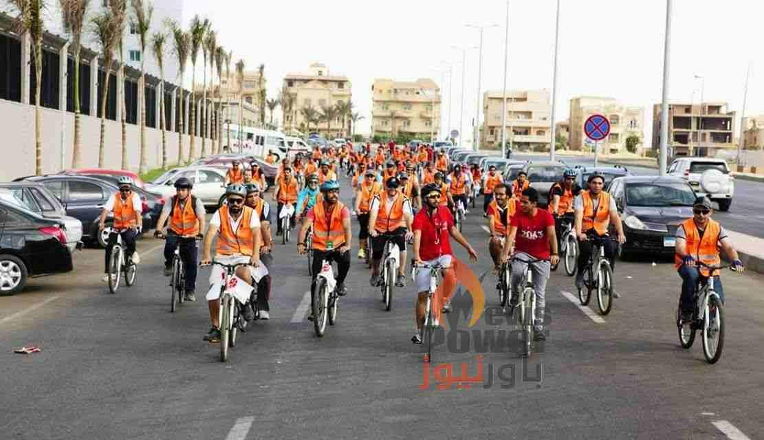 بتروجت تنظم فعاليات اليوم الرياضى لركوب الدراجات