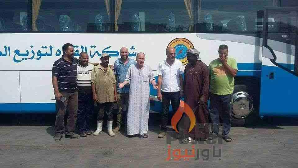 المهندس محمد السيد رئيس شركة القناة لتوزيع الكهرباء يبدأ خطة لتحديث اسطول نقل العاملين
