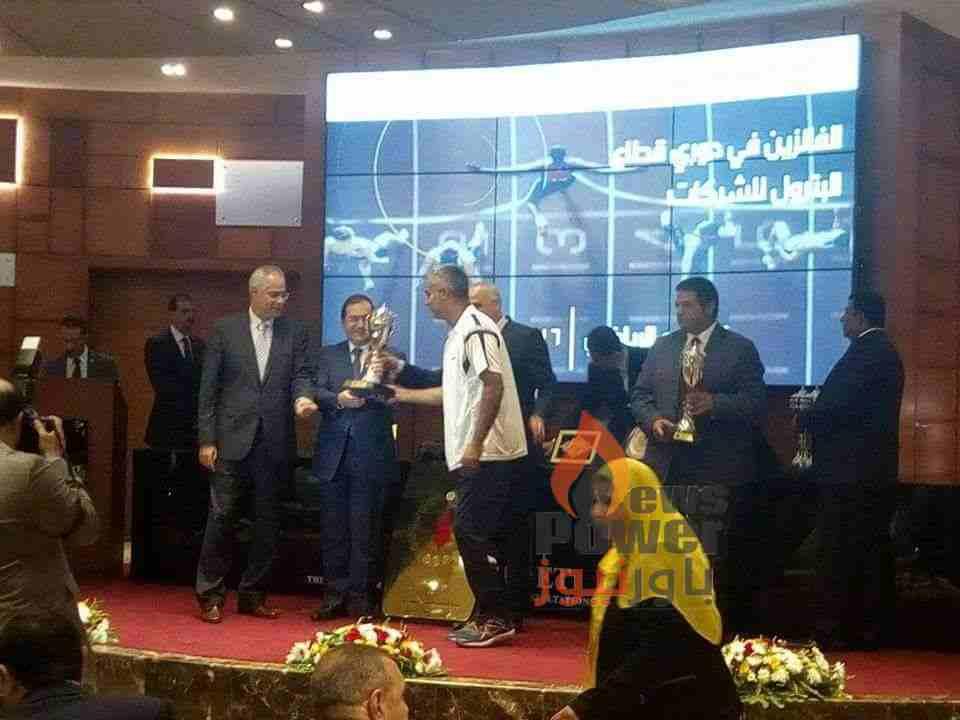 الاسكندرية للبترول تتسلم جوائز دورى شركات قطاع البترول
