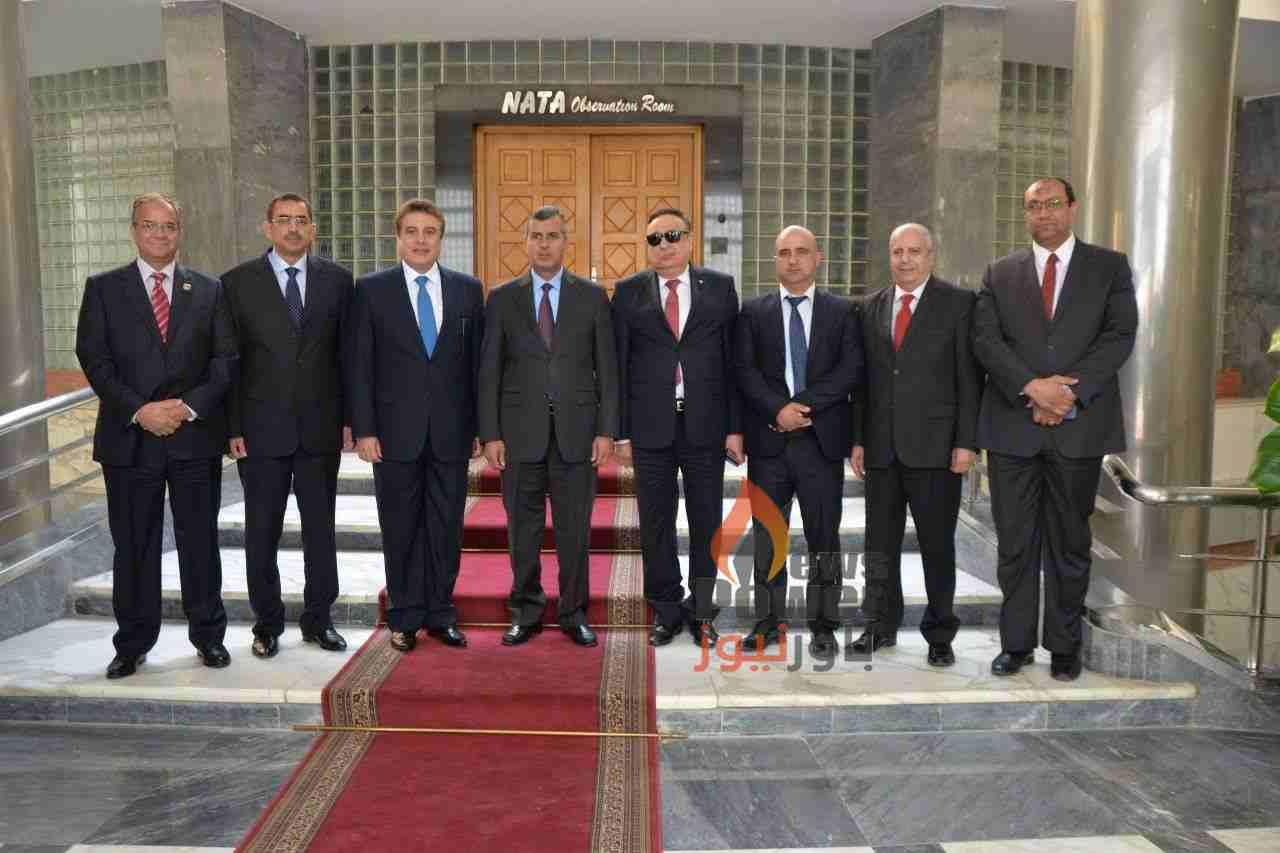 وزير الطاقة الاردنى يطلع على ادارة نشاط شبكة الغاز المصرية خلال زيارته لمركز التحكم التابع لـ جاسكو