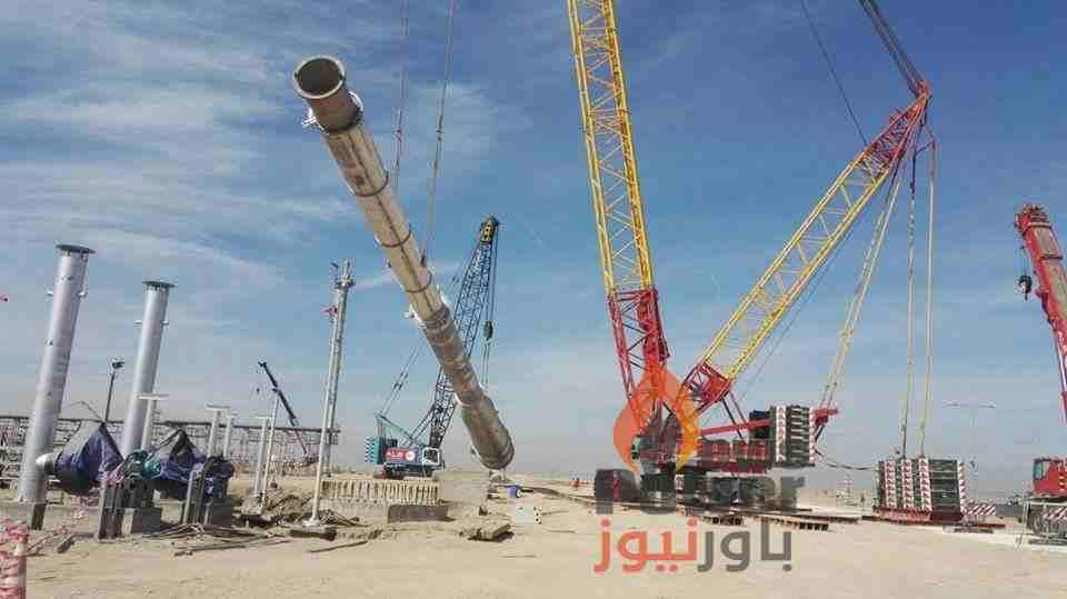بتروجت تنجح في إتمام عملية رفع وتركيب برج حرق الغازات الضارة ضمن مشروع تطوير حقل السيبا بالعراق