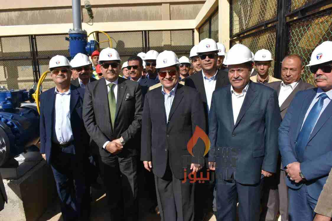 باور نيوز يرصد بصور خاصة جولة وزير البترول اليوم بمحافظة سوهاج
