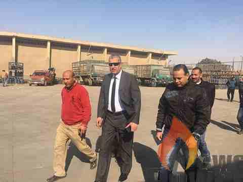 رئيس بوتاجاسكو يقوم بزيارة مستودعات القاهرة وورش الصيانة التابعة للشركة