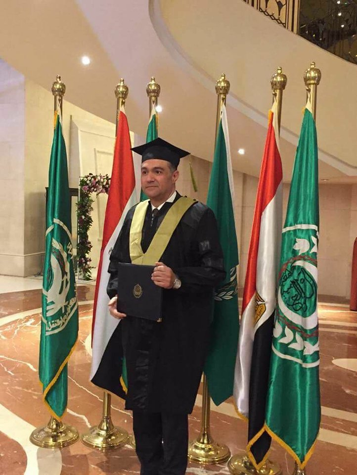 مدير عام هندسة وتحليل الشبكات بشركة جاسكو يحصل على درجة الماجستير في إدارة المشروعات