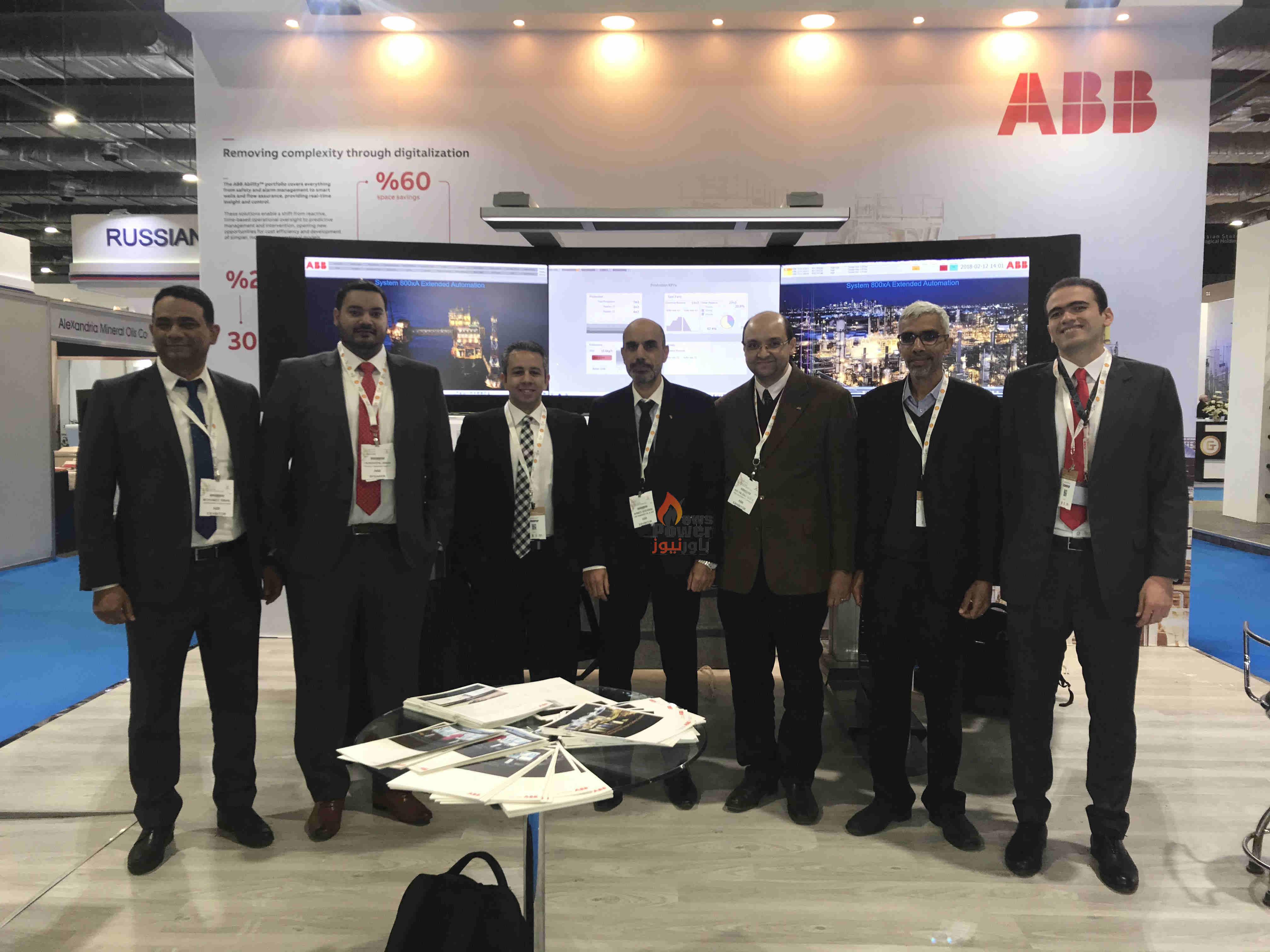 ABB مصر تقدم حلول التحول الرقمي والتحكم الآلي لقطاع النفط والغاز الواعد بمصر