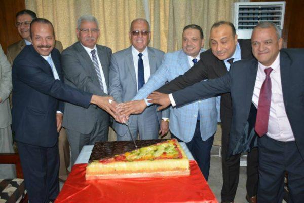 مصر للبترول تُقيم احتفالية كبرى لتكريم سعيد سليمان لبلوغة سن المعاش