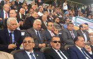 بالصور..انابيب البترول تشارك في مؤتمر تأييد الرئيس السيسي لفترة رئاسية ثانية