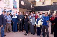 مدير أمن الجيزة يتفقد اللجان الانتخابية ويلتقط صورا تذكارية مع مهندسي شركة جنوب القاهرة لتوزيع الكهرباء