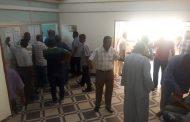 صور .. الديوان العام لشركة مصر العليا للتوزيع يصطف لاختيار ممثلى اللجنة النقابية