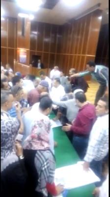 فيديو يظهر ارتباك كبير فى انتخابات اللجنة النقابية بكهرباء مصر