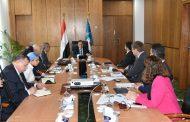 وزير البترول يلتقي رئيس قطاع الموارد الطبيعية بالبنك الأوروبي