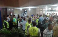 صور..العاملون بمحطة الكريمات البخارية يشاركون في انتخابات اللجنة النقاببة