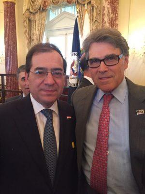 علي هامش مؤتمر الغاز العالمي .. المسئولون الأمريكيون يشيدون بالاصلاحات الاقتصادية في مصر خاصة فى مجال قطاع الطاقة