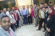 بالصور..حفل إفطار جماعي للعاملين بمستشفى البترول بمشاركة مصطفي ولطفي