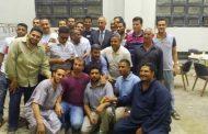 رئيس هيئة الطاقة الجديدة والمتجددة يشارك فى افطار جماعي مع العاملين بموقع الزعفرانة