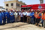 رئيس القاهرة لتكرير البترول يتفقد سير العمل بقطاعات الشركة اول أيام عيد الفطر