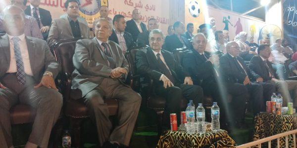 وزير الكهرباء وقيادات الوزارة يشهدون نهائى بطولة