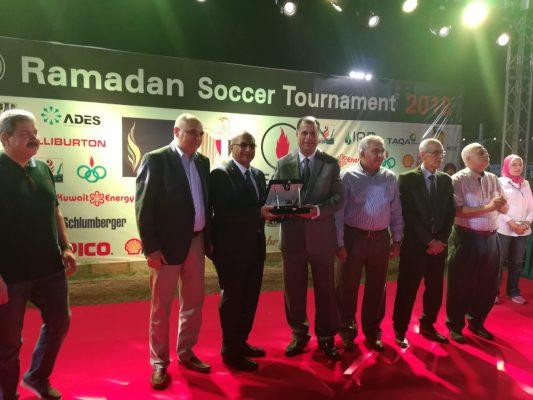 بوتاجاسكو تقتنص كأس الدورة الرمضانية للعاملين بقطاع البترول ..وعز الرجال يكرم عدد من الفرق الرياضة المشاركة