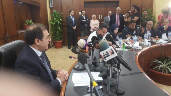 وزير البترول : مستمرون فى التفاوض مع قبرص لاستجلاب الغاز من حقل افروديت