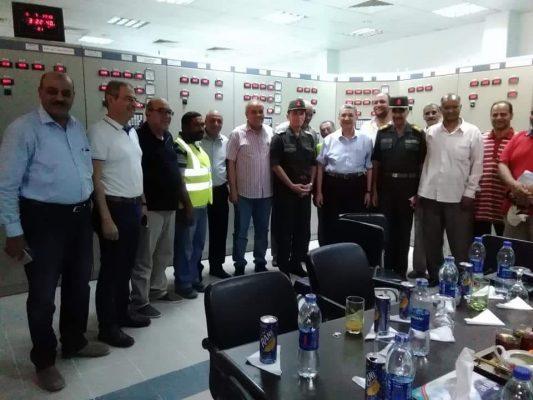 وزير الكهرباء وقيادات الوزارة يتفقدون محطة محولات شرق العوينات 220 كيلو فولت