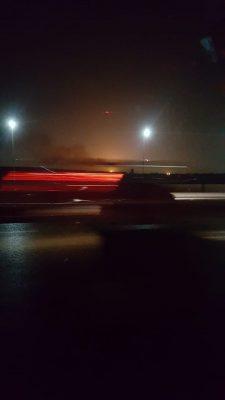 عاجل ... صور اولية لانفجار ناجم عن خزان وقود قرب مطار القاهرة