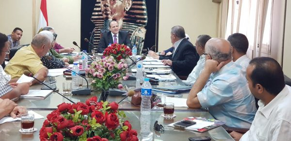 رئيس شركة جنوب الدلتا لتوزيع الكهرباء يجتمع برؤساء القطاعات ومديري الفروع لمتابعة تنفيذ الخطة الطموحة ومؤشرات الاداء بالشركة