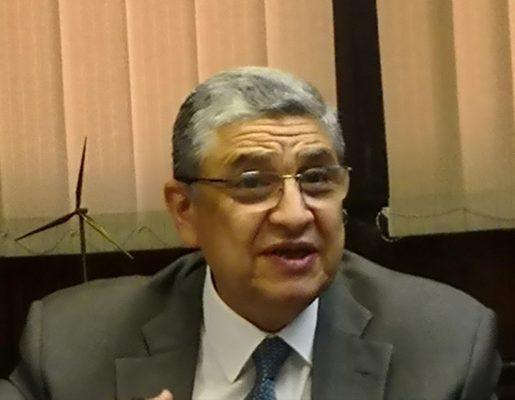 وزير الكهرباء يتابع مع المهندس ناجي عارف تنفيذ خطط التطوير فى شركة شمال القاهرة لتوزيع الكهرباء