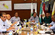 الملا يجتمع برؤساء شركات البترول لمتابعة مشروعات تنمية حقول الغاز الطبيعى بدلتا النيل .. ودخول حقل بلطيم خريطة الانتاجمنتصف العام القادم