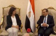 وزير البترول يستقبل وزيرة الطاقة الأردنية لبحث سبل التعاون بين البلدين في مجال البترول والغاز