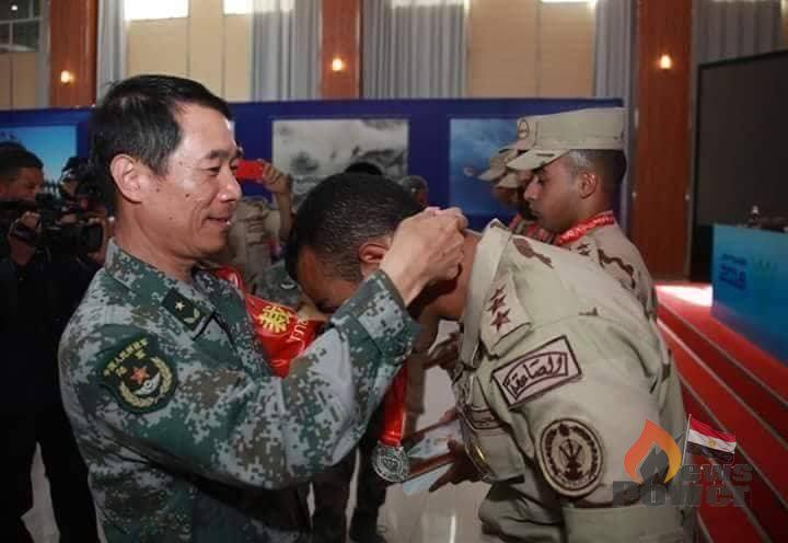 الفريق المصري لقوات الدفاع الجوي يحصد المركز الثاني في مسابقة الالعاب العسكرية الدولية بالصين