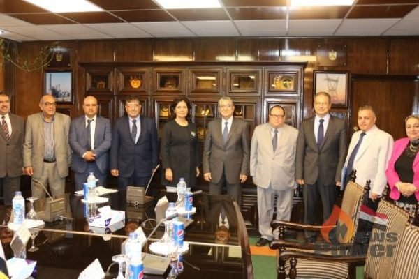 شاكر يستقبل وزيرة الطاقة الاردنية  لبحث دعم وتعزيز التعاون بين البلدين فى مختلف مجالات الكهرباء