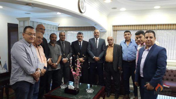 رئيس النقابة العامة للبترول خلال زيارته لشركة القاهرة للتكرير: القطاع العام هو المحرك الرئيسى لقطاع البترول