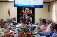 عسل يجتمع برؤساء القطاعات ومديري الفروع لمتابعة تنفيذ الخطة الطموحة ومؤشرات الاداء بشركة جنوب الدلتا للتوزيع