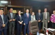 وفد الشركة التونسية للكهرباء يبحث مع دسوقى وقطرى والنقيب مشاريع العدادات الذكية وخبرة مصر فى صيانة محطات التوليد وسد عجز الطاقة
