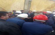 الآن .. وصول وزير البترول لمتابعة حريق التنك 206 بشركة الإسكندرية للبترول