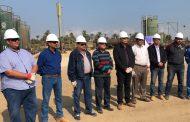 من داخل حقول الفيوم  .. عبد الرحيم والعاملين بشركة بتروسيلة يحتفلون بيوم السلامة والصحة المهنية