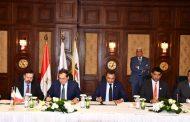 الملا يوقع اتفاقية شراء بى بى الانجليزية ومبادلة الاماراتية 45% من حصة إينى بمنطقة امتياز نور