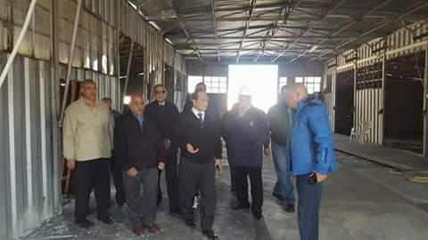 المهندس نبيل عفيفى يتفقد المنشآت الرياضية الجديدة بشركة الاسكندرية للبترول ويطالب المختصين بسرعة التنفيذ
