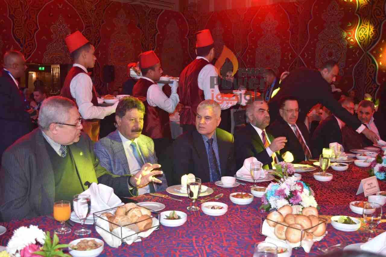 بالصور بدء حفل عشاء الملتقى الدولى للأسمدة برئاسة سعد ابو المعاطي