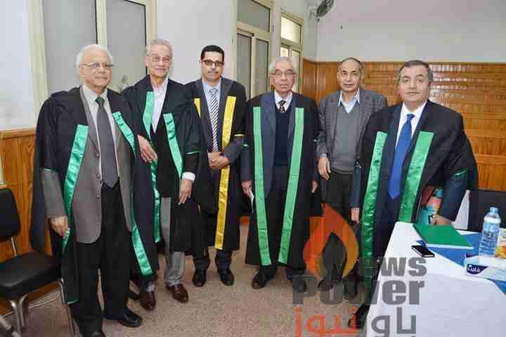 جامعة القاهرة تمنح مسئولا بجاسكو درجة الماجستير  عن رسالة حول انشاء محطة كهرباء من طاقة حرارة باطن الارض