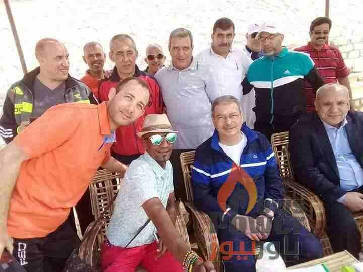 بالصور... المهندس جابر دسوقى و ابوسنة وعكاشة وقيادات غرب الدلتا للإنتاج على شاطئ الساحل الشمالى