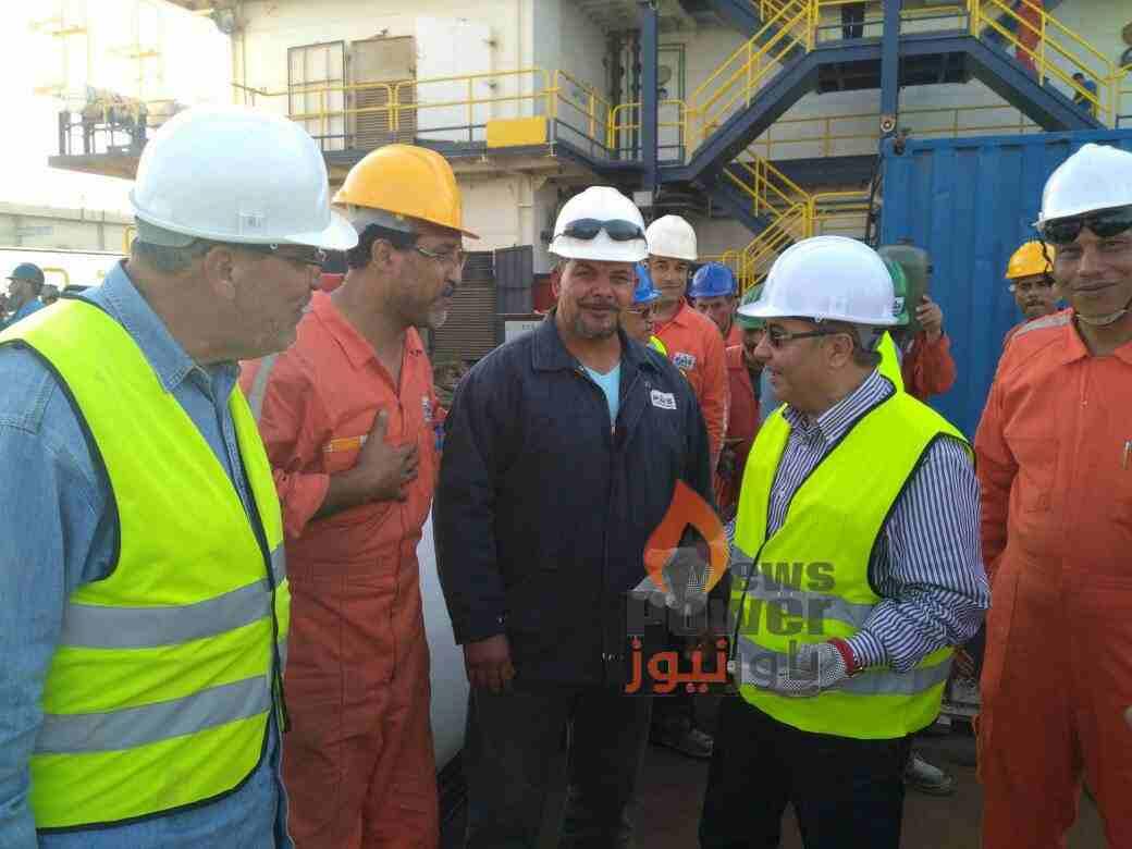 نجاح شركة PMS في إنهاء أعمال تركيب خط الغاز (32بوصة)بميناء سوميد بالعين السخنة