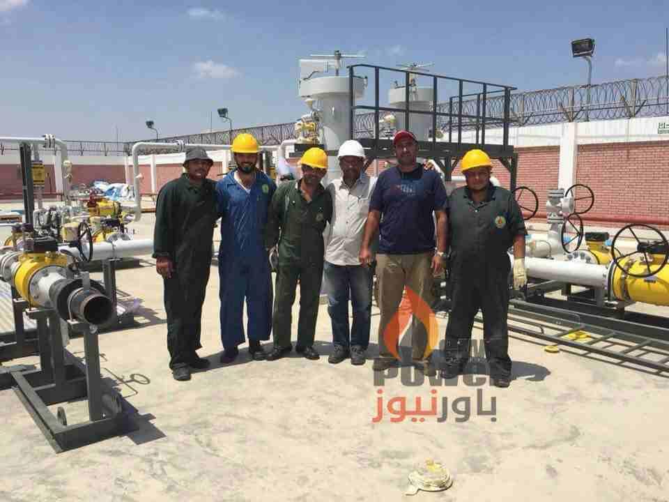 طاقم تاون جاس ينهى تنفيذ محطة القنطرة شرق لحساب سيناء للغاز